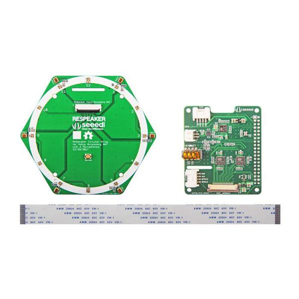 ReSpeaker 6-Mic Circular Array Kit for Raspberry Pi [107990055]