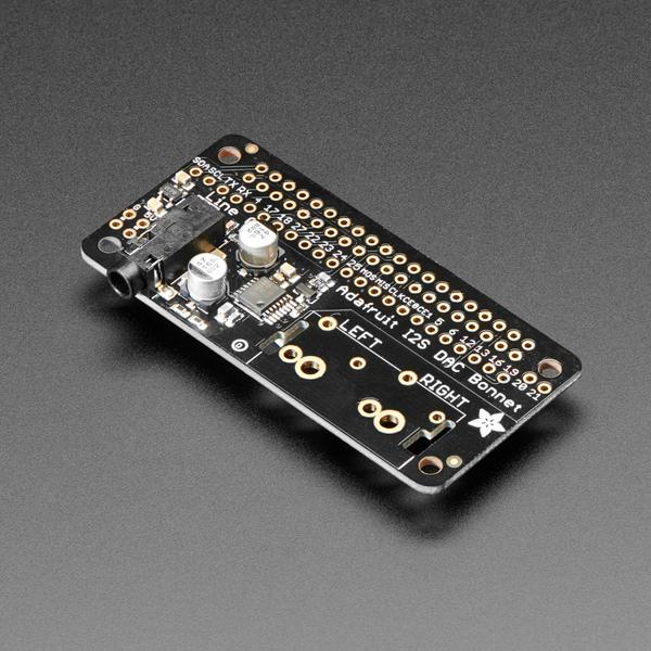 Adafruit I2S Audio Bonnet for Raspberry Pi - UDA1334A [ada-4037]