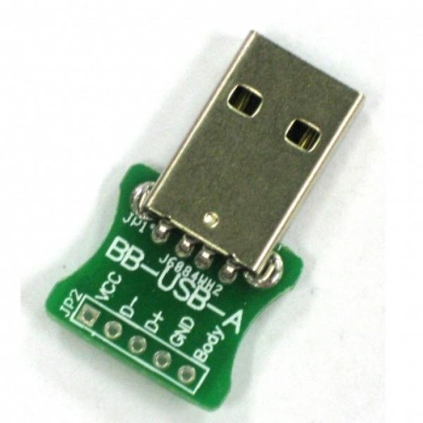 Breakout USB A Type Male