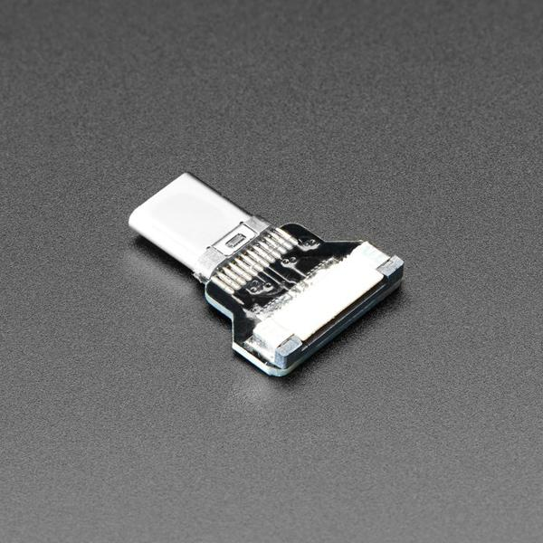 DIY USB Cable Parts - Straight Type C Plug [ada-4108]