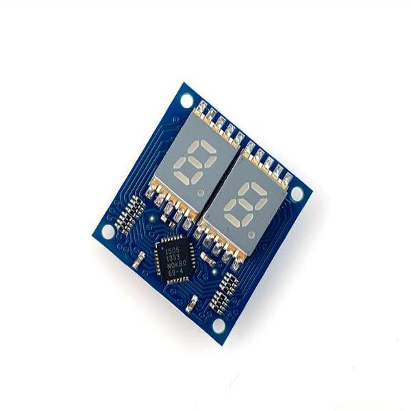 7 SEGMENT DISPLAY TINYSHIELD [ASD2421-R]