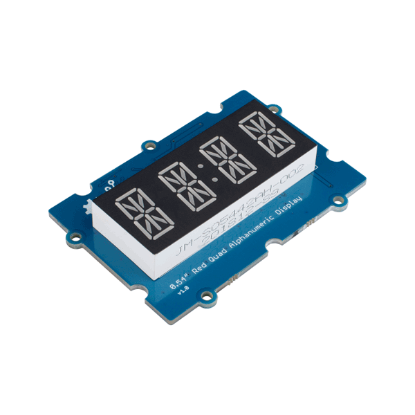 Grove - 0.54 Red Quad Alphanumeric Display [104020133]