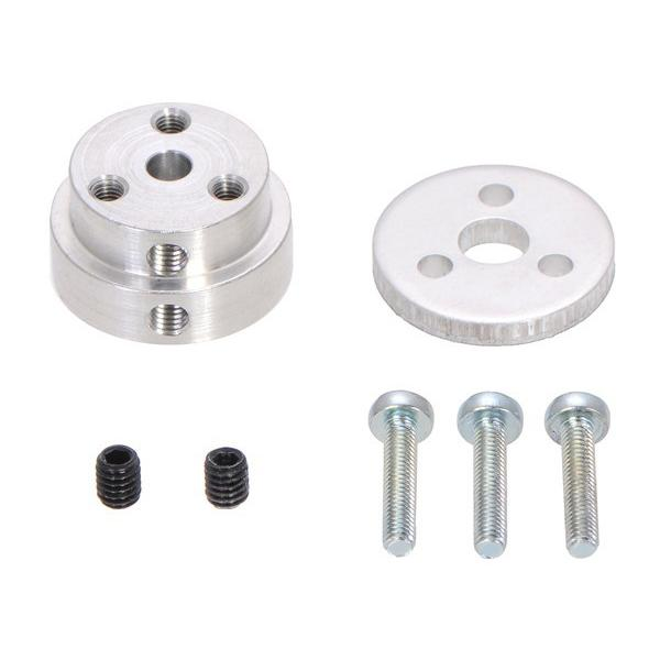 Pololu Aluminum Scooter Wheel Adapter for 4mm Shaft #2672