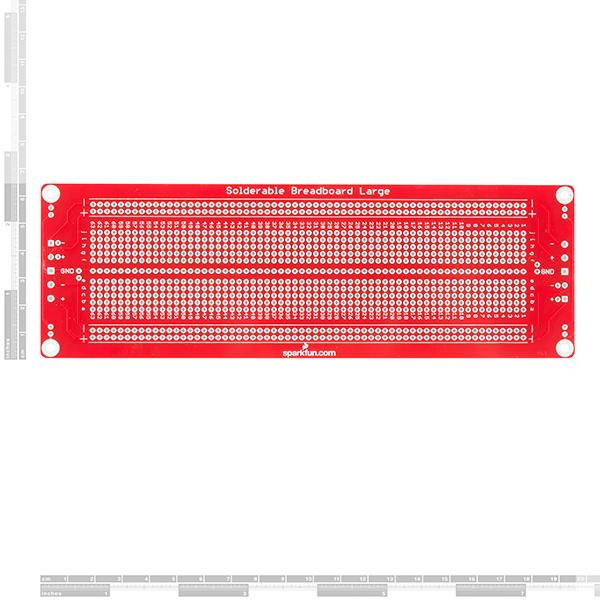 SparkFun Solder-able Breadboard - Large [PRT-12699]