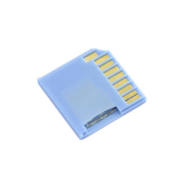 Micro SD Card Adapter for Raspberry & Macbooks - Blue [NT328030002]
