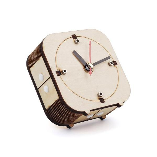 Back in Time - Make your wooden counter-clockwise clock [110060052]