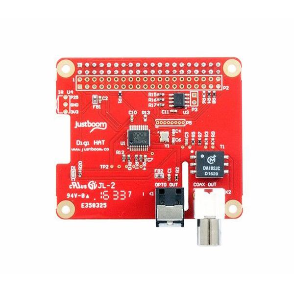 JustBoom Digi HAT for the Raspberry Pi [107990035]