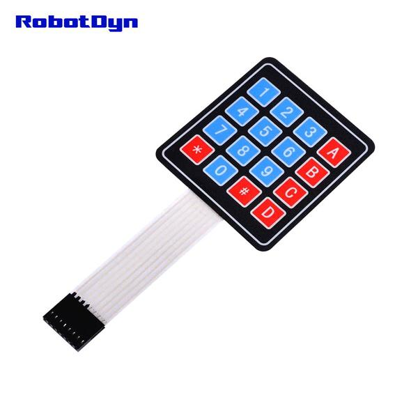 Matrix Membrane Keypad 16 Key (4x4) [RD012]