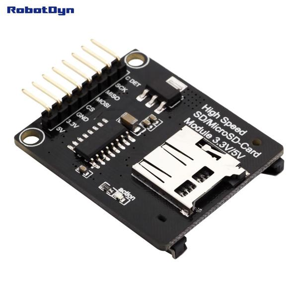 SD+MicroSD-card high speed module [RD007]