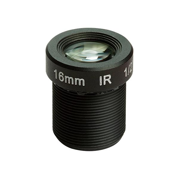 1/2' M12 Mount 16mm Focal Length Camera Lens M2016ZH01 [LN001]