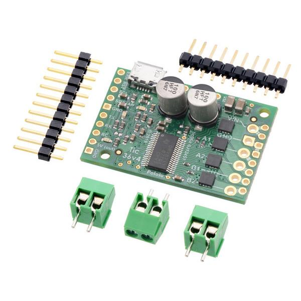 Tic 36v4 USB Multi-Interface High-Power Stepper Motor Controller #3141