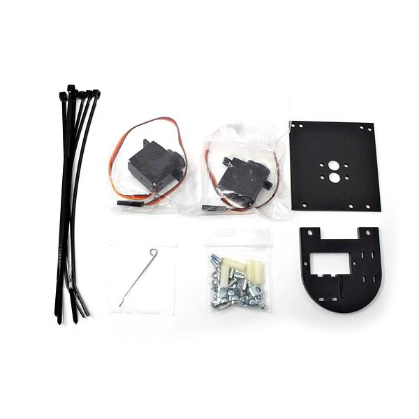 Pixy2 팬/틸트 서보 모터 키트 (Pan/Tilt2 Servo Motor Kit for Pixy2 - Dual Axis Robotic Camera Mount) [110991167]