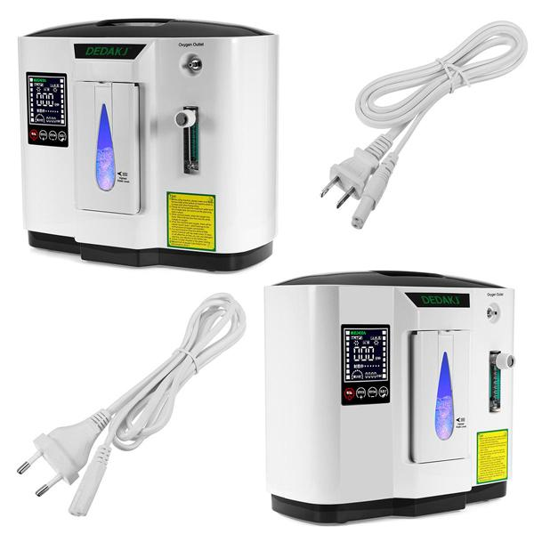 DDT - 1A 6L Portable Oxygen Concentrator Generator Air Purifier Medical Devices - EU plug