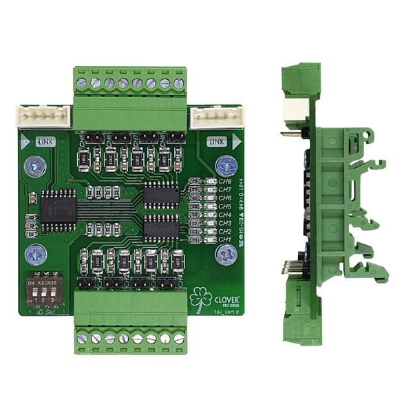 Isolated 8CH Input Contactor Module