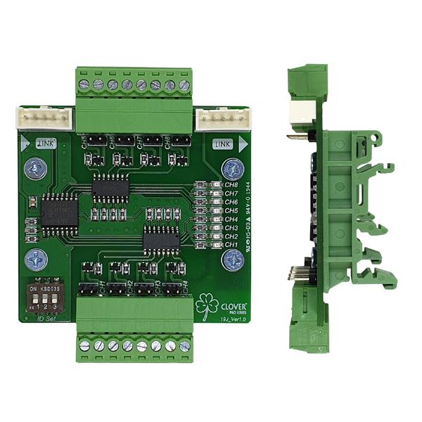 Isolated 8CH Output Contactor Module