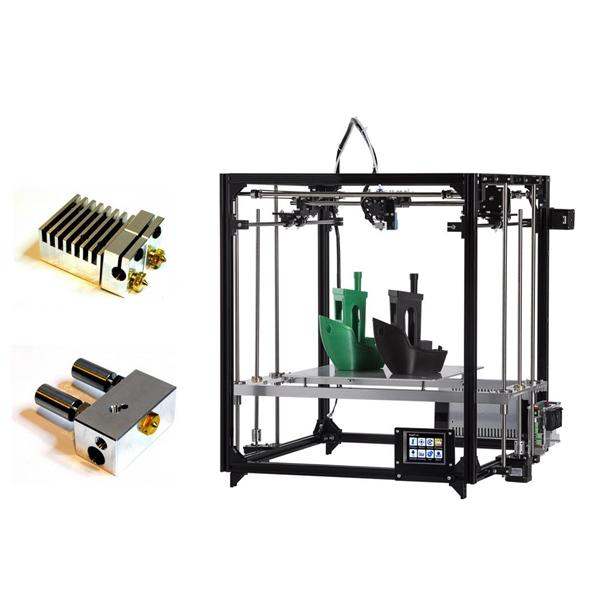 FLSUN® F3 DIY 3D Printer 260*260*350mm Printing Size With Auto-leveling/Touch Screen/Dual Nozzle 1.75mm 0.4mm Nozzle