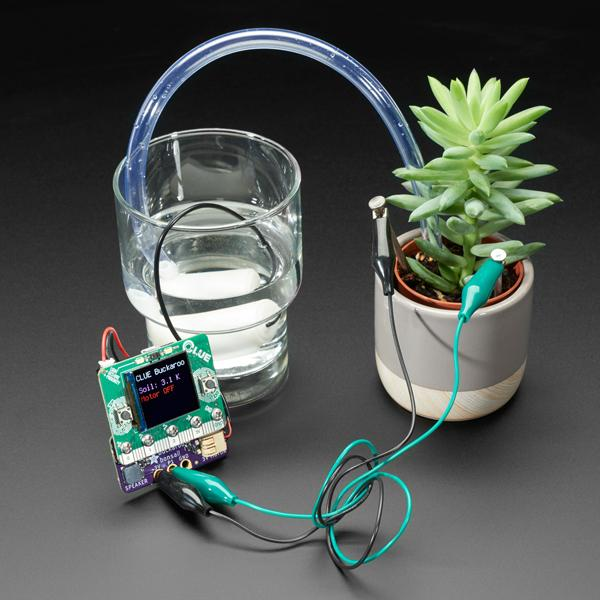 Adafruit Bonsai Buckaroo - micro:bit & CLUE Plant Care Helper [ada-4534]