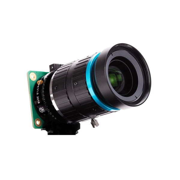 라즈베리파이 HQ 카메라모듈용 16mm 망원 렌즈 10MP (16mm Telephoto Lens for Raspberry Pi High Quality Camera)