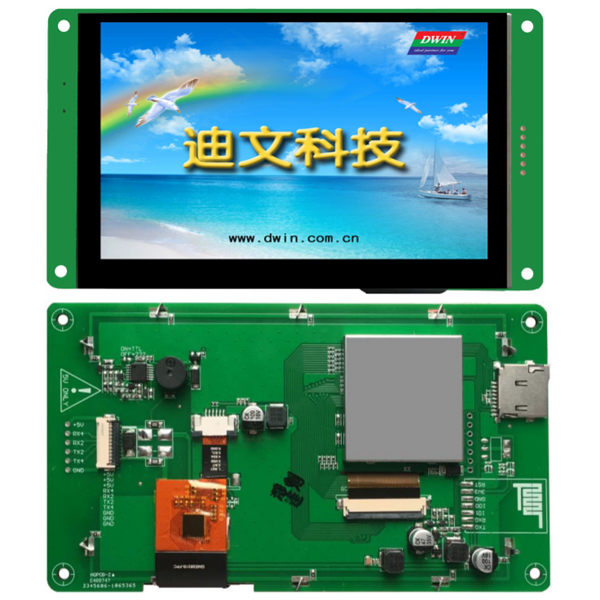 [DWIN] DMG80480C050_03WTC  ( 5.0인치 800xRGBx480, 24bit 16.7M Colors, TN Screen, CTP, DGUSII/TA LCM )