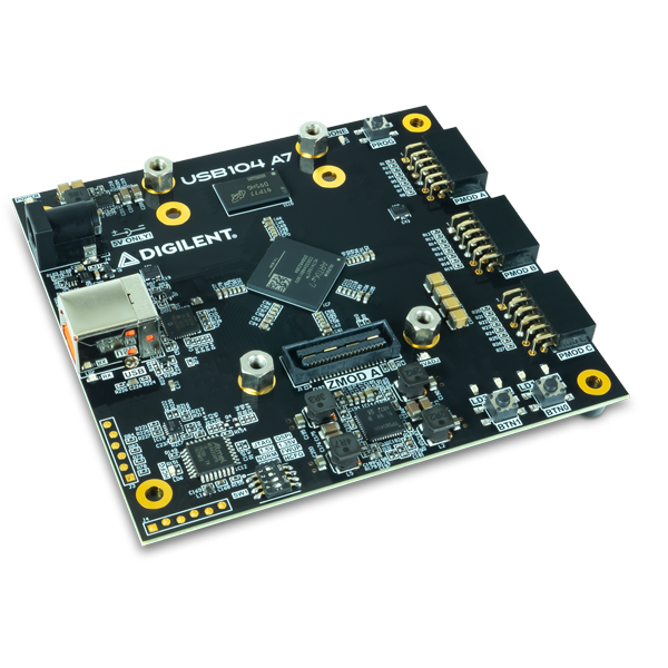 USB104 A7: Artix-7 FPGA Development Board in PC/104 Form Factor