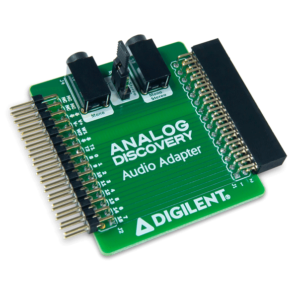 Audio Adapter for Analog Discovery