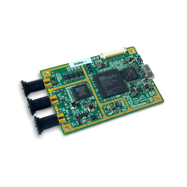 USRP B205mini-i: 1x1 USB Software-Defined Radio Platform